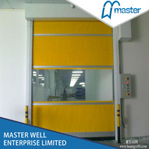 Industrial Automatic PVC Roller Shutter/Customized PVC High Speed Door with Good Quality pictures & photos