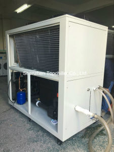 -5c/-10c Air to Water Chiller with Glycol Liquid Circuation System pictures & photos