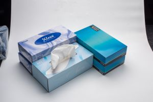 Atractive Customed Boxed Facial Tissue, Ultra-Soft Facial Tissue pictures & photos