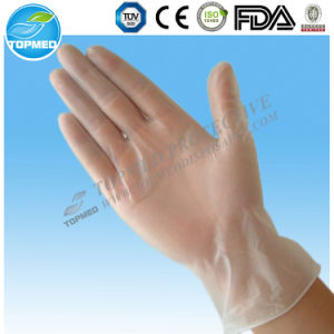 Disposable Transparent Medical Gloves, HDPE Gloves pictures & photos