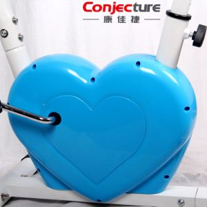Heart-Shaped Foldable Magnetic Exercise Bike X Bike pictures & photos