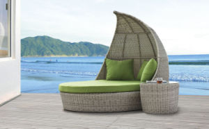 Rattan Outdoor Furniture Sun Loungers Wicker Daybed-1 pictures & photos