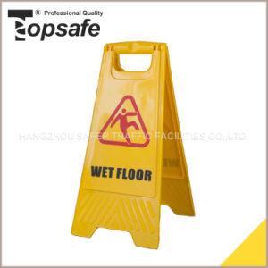 Caution Wet Floor Double Side Plastic Sign pictures & photos