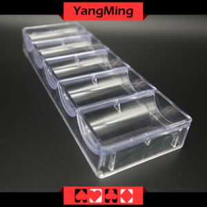 Transparent Acrylic Chips Case - 1 (YM-CT08) pictures & photos