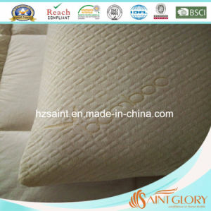 Body Use Shredded Memory Foam Filling Pillow with Zippered Bamboo Shell pictures & photos
