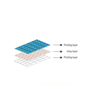 3*7 3*8 5*5 Layouts NFC Plastic Prelam Inlay for RFID Smart Card with MIFARE Chip pictures & photos