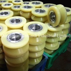 Urethane Wheel with V Groove