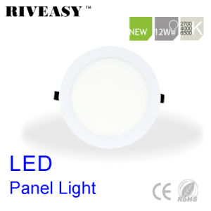 12W Round Nano LED Panel Light with Ce&RoHS pictures & photos