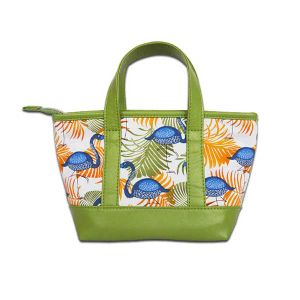 High Quality Cotton Printing Mini Hand Bag pictures & photos