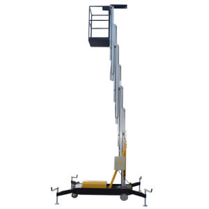9m 125kg Hydraulic Aerial Working Platform for Outdoor Maintenance pictures & photos