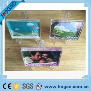 Photo Frame Butterfly Shape Oval Clear Snow Globe, Water Snow Globe pictures & photos