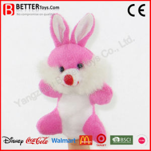 Stuffed Animal Rabbit Plush Finger Puppet pictures & photos