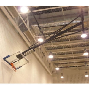 Ceiling Mounting Basketball Basckstop Hoop with Tempered Glass Backboard pictures & photos