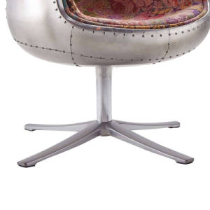 Modern Style Swivel Single Aluminium Cup Chair pictures & photos
