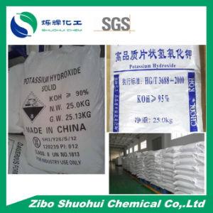 KOH Caustic Potash Potassium Hydroxide (CAS: 1310-58-3) pictures & photos