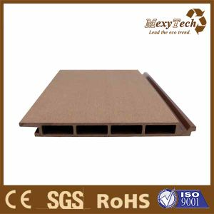Guangzhou Hot Sales WPC Decking Co-Extrusion External Composite Wall Cladding pictures & photos