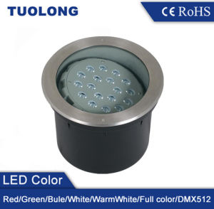 New Adjustable LED Inground Light 36W Adjustable Underground LED Light Warm White RGB Optional pictures & photos