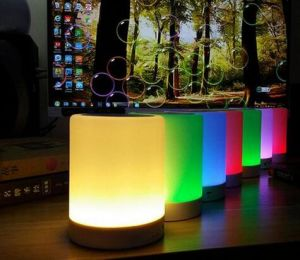 7 Colors Changing Wireless Baby Light Portable LED Bluetooth Speaker pictures & photos