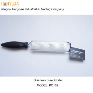 Citrus Lemon Zester & Cheese Grater Stainless Steel, Non-Slip Footing and Very Sharp pictures & photos