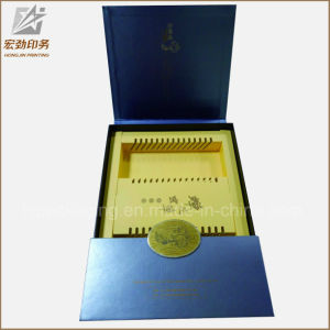 Custom Luxury Folding Kraft Corrugated Cardboard Paper Gift Packaging Boxes with Logo Print pictures & photos