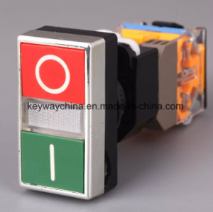 Illuminated-Square Head Type Pushbutton Switch pictures & photos