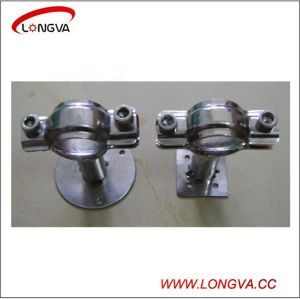 Stainless Steel Sanitary Pipe Holder with Long Handle pictures & photos