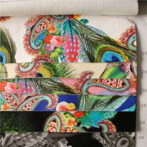 1.0mm Printed PU Leather for Handbags (A757) pictures & photos