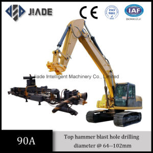 Jd90A China Best Top Hammer Excavator Mounted Drill Rig pictures & photos