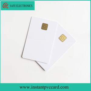 Standard Credit Card Size Inkjet Smart 4428 Chip IC Card pictures & photos