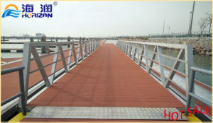 Manufactured Stable Aluminum Alloy Gangway Ladder pictures & photos