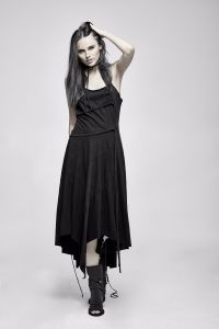 Pq-185 Punk Rave Summer Sexy Retro Long Braces Dress pictures & photos