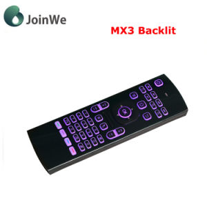 Mx3 Backlit Air Mouse Wireless Keyboard pictures & photos
