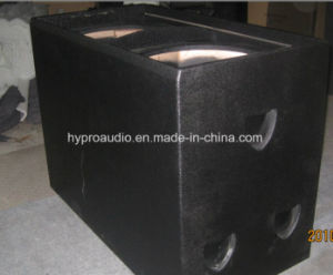 Dual 18 Inch High Power Professional Subwoofer (2000W) (S8028) pictures & photos