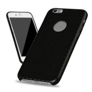 Carbon Fiber PU Hard Case for iPhone 6 6s pictures & photos