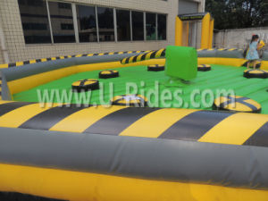 Eliminator Inflatable Wipeout Meldown Game for 8 People pictures & photos