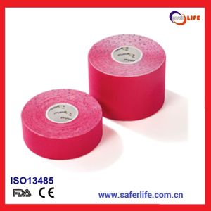 Sports Safety Elastic Cotton Muscle Physiotherapy Orthopedics Support Cotton Kinesiology Tape pictures & photos
