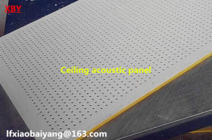 Sound Absorption Decorative Wall Panel and Ceiling Panel Acoustic Panel pictures & photos