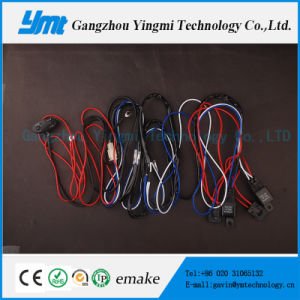 Automoative Cable Harness Wiring Assembly 108W Light Bar Wire Connector pictures & photos