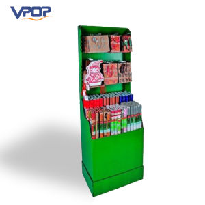 Custom Design Cardboard Gift Hanging Display Stand for Gift Shop
