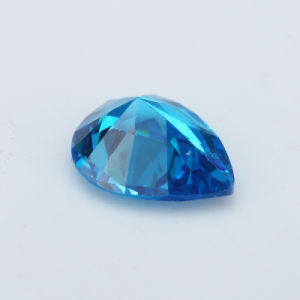 Hotsale Cubic Zirconia Blue AAA Pear Shape Aquamarine Zircon pictures & photos