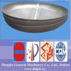 Stainless Steel Dish Head Applied to Boiler Part pictures & photos
