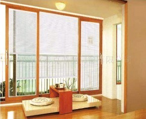 PVC Windows with Sun Shade - (multi-control system)