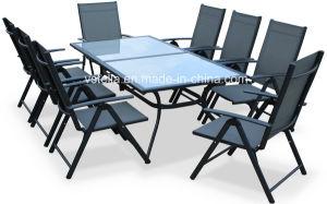 8 Piece Aluminum Teslin Garden Outdoor Dining Set pictures & photos