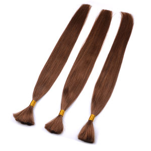 Top Quality Remy Hair Bulk pictures & photos