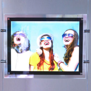 Double Sided Ce UL RoHS Ceiling Hanging Crystal LED Light Box pictures & photos