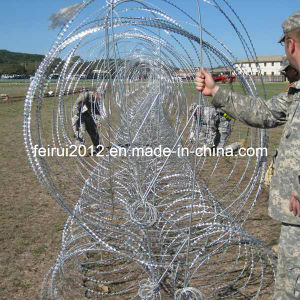 2017 Hot Sale Mobile Razor Wire Security Barrier pictures & photos