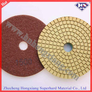 4′′diamond Polishing Pads Wet for Granite and Marble pictures & photos