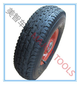 4.00-4 Inflatable Rubber Wheel with Different Patterns pictures & photos