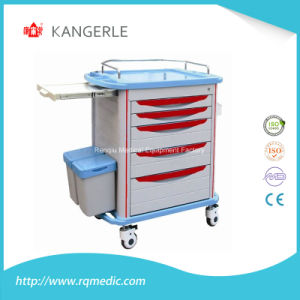Hospital Dressing Trolley/Medical Dressing Trolley/Medical Trolley pictures & photos