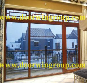 Larch/Pine Wood Aluminum Tilt & Turn Window pictures & photos